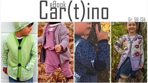 Cartino / Cardigan / Anleitung + Schnittmuster
