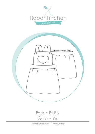 Ebook Latzrock PARIS mit Nähanleitung und Schnitt bei Makerist - Bild 1