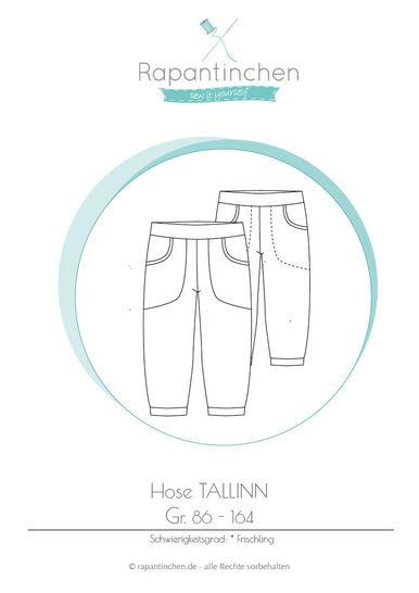 Ebook Hose TALLINN mit Nähanleitung und Schnitt bei Makerist - Bild 1
