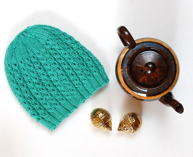 Fish Scales knitted hat at Makerist - Image 1