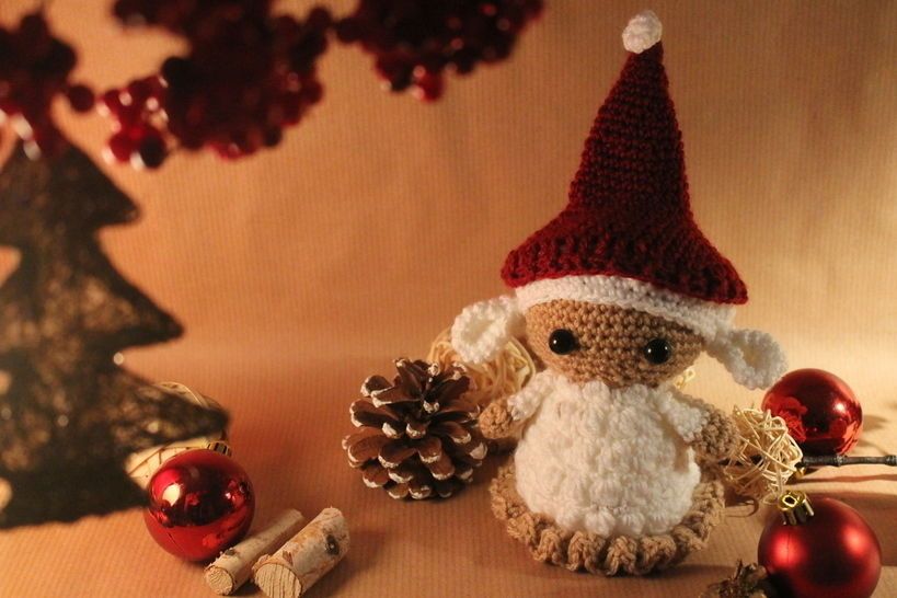 """Häkelanleitung """"Weihnachtslämmchen"""" bei Makerist - Bild 1"""
