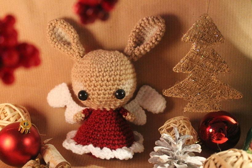 """Häkelanleitung """"Weihnachtshase"""" bei Makerist - Bild 1"""