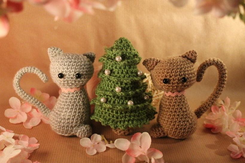 """Häkelanleitung """"Weihnachten mit Olli und Molli"""" bei Makerist - Bild 1"""