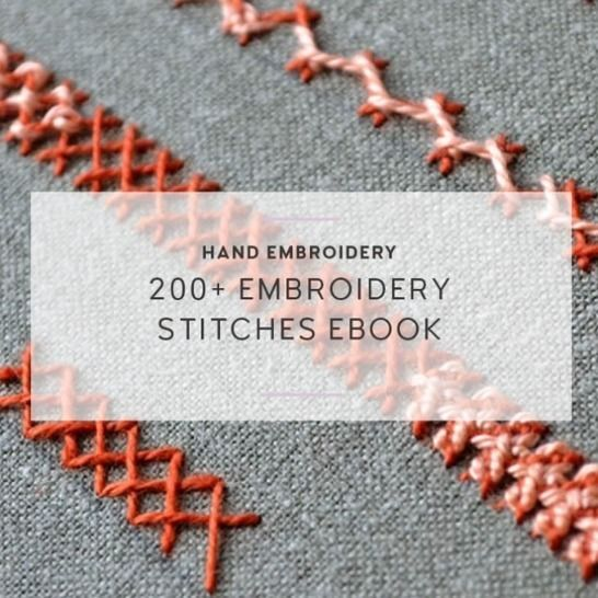 206 embroidery stitches ebook at Makerist - Image 1