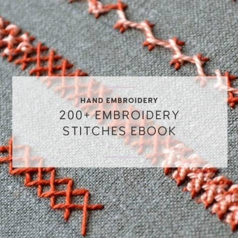 206 embroidery stitches ebook