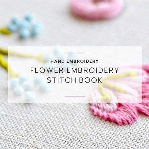 flower embroidery stitch ebook