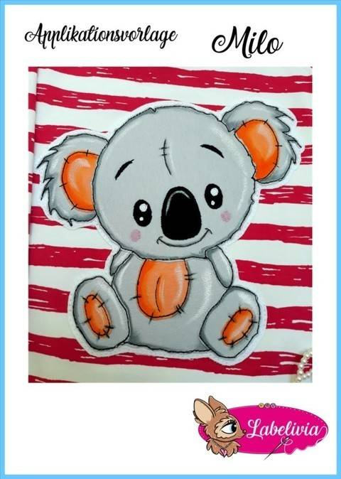 Applikationsvorlage Koala Milo