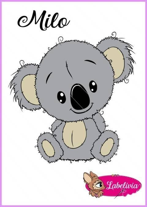Plotterdatei Koala Milo