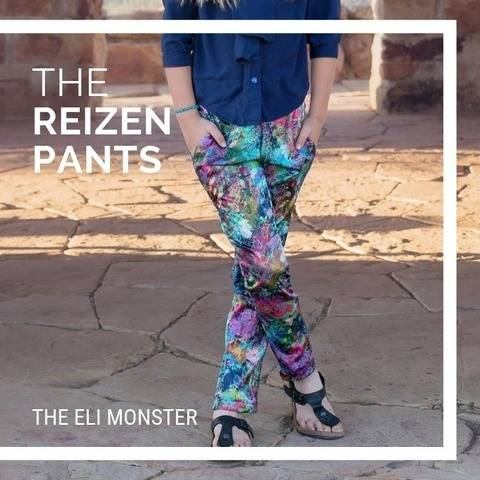 The Reizen Pants Sewing Pattern, Sized 2-12y