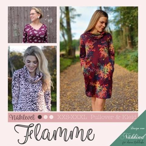 Kleid & Pullover Flamme