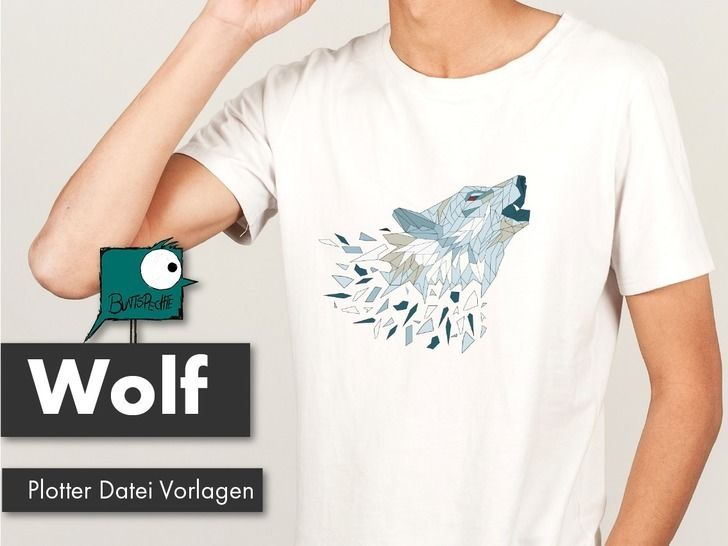 Wolf Polygonzoo Plotterdatei bei Makerist - Bild 1