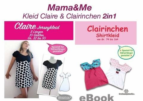 Mama&Me Claire & Clairinchen Jerseyleid für Mutter & Kind bei Makerist