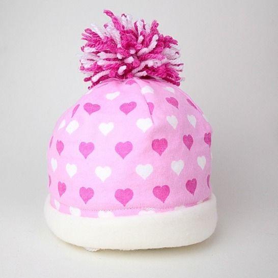 Nähanleitung Baby Pudelmütze Mütze & Bommel nähen bei Makerist - Bild 1