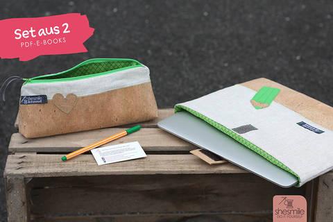 Stiftemäppchen und Schutztasche (Set mit 2 PDF-E-Books)