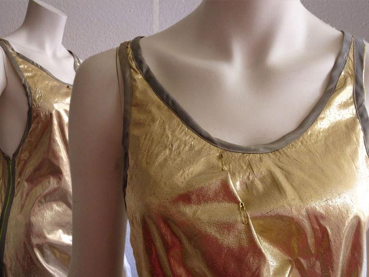 Kleid mit sportlichem Rücken und seitlichem Reißverschluss, Gr.38-46 bei Makerist - Bild 1