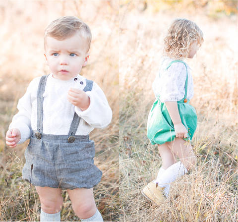 Bloomers for boys, girls and babies