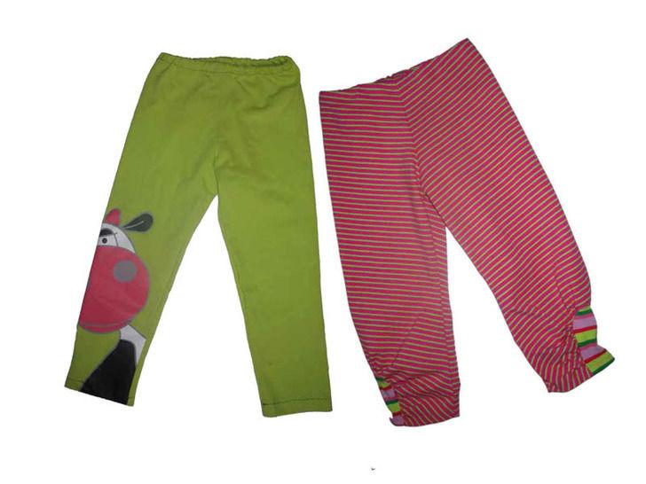 Leggings für Kinder mit Nähanleitung und Schnittmuster Gr.98-164, 2 verschiedene Modelle bei Makerist - Bild 1