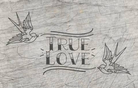 """""""True Love"""" Plotterdatei"""