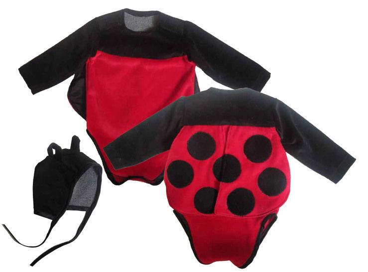 """Kostüm """"Marienkäfer"""" besonderer Body und Mütze Gr.50-92 Kostüm nähen fürs Baby bei Makerist - Bild 1"""