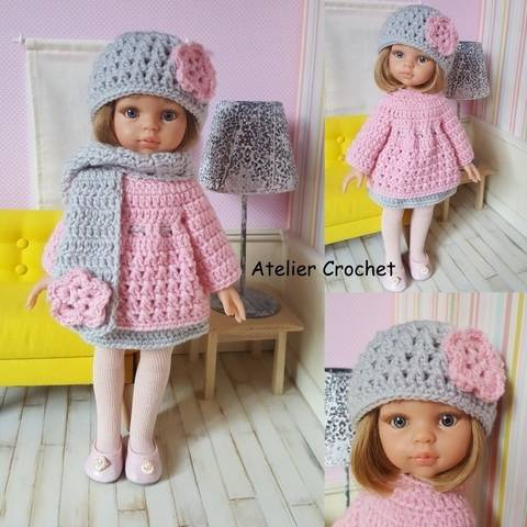 """Marianne"" crochet pattern for Paola Reina"