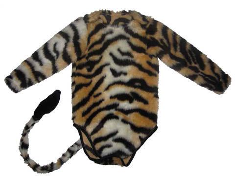 Baby Body Kostüm Tiger Gr.50-92 Schnittmuster Karneval pdf bei Makerist