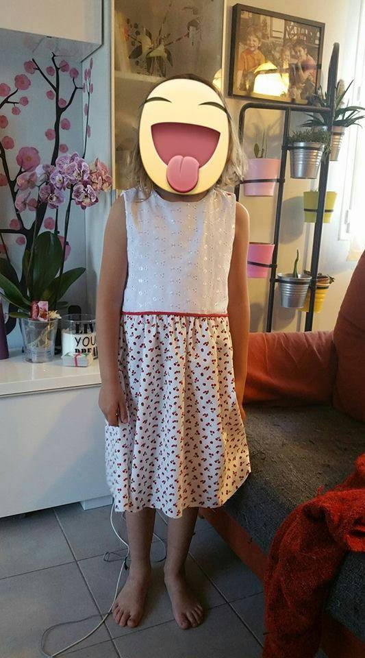 Robe fillette 2-12 ans Calypso