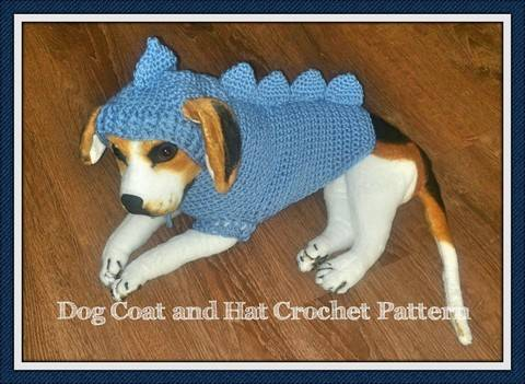 Dragon Dog Sweater and Hat Crochet Pattern at Makerist