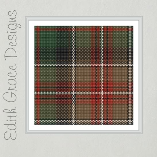 Johnson Tartan Needlepoint Pattern at Makerist - Image 1