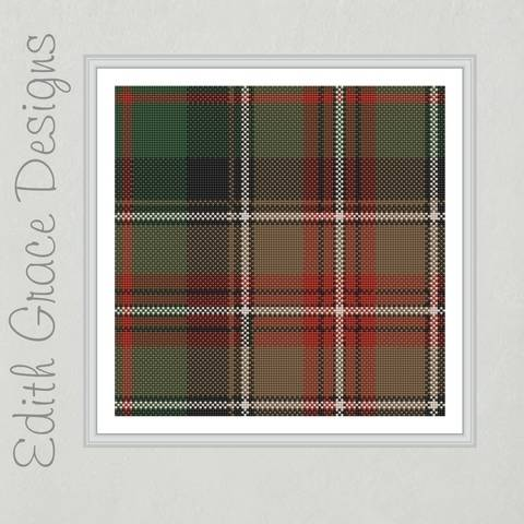 Johnson Tartan Needlepoint Pattern at Makerist