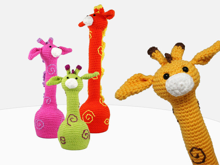 3 Giraffes - Crochet Pattern at Makerist - Image 1