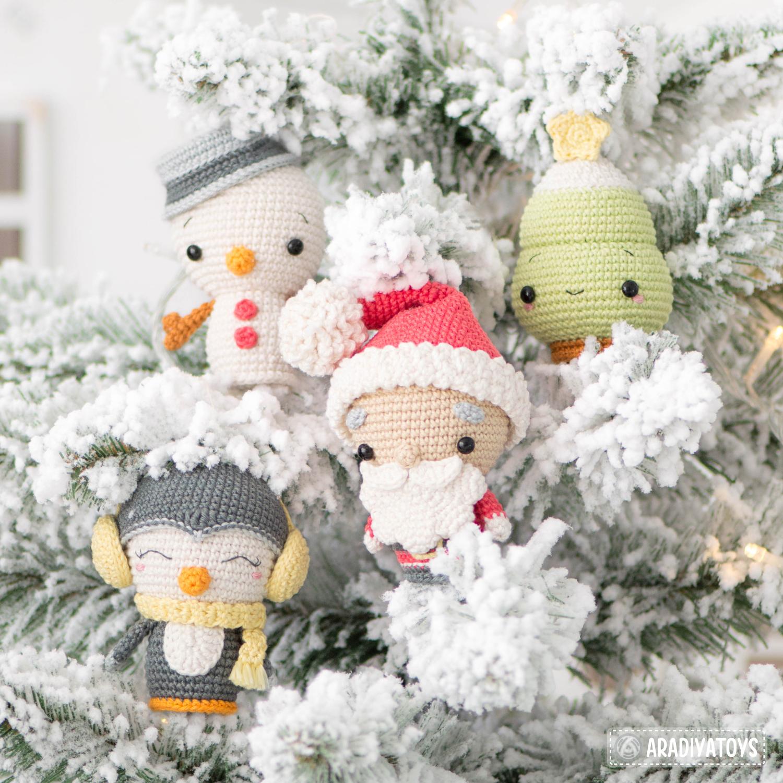 "Set de minis Noël de la collection ""AradiyaToys Minis"""