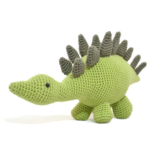 Sabrina the Stegosaurus - Amigurumi Pattern American PDF