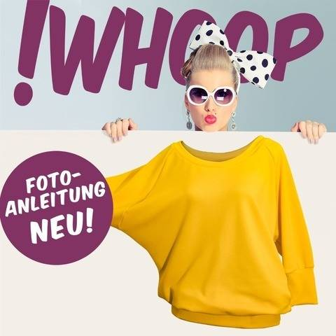 !Whoop No 91 Oversized-Shirt  Schnittmuster 32-46 bei Makerist