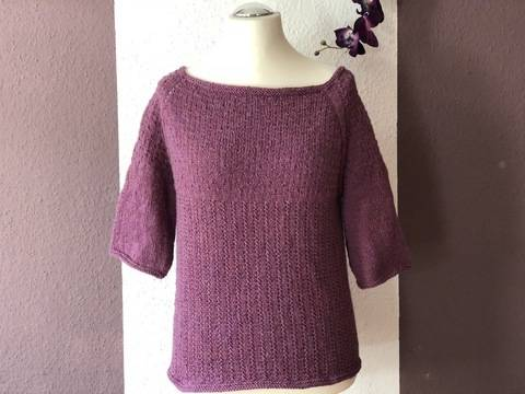 Shirt Lavandula - knitting pattern