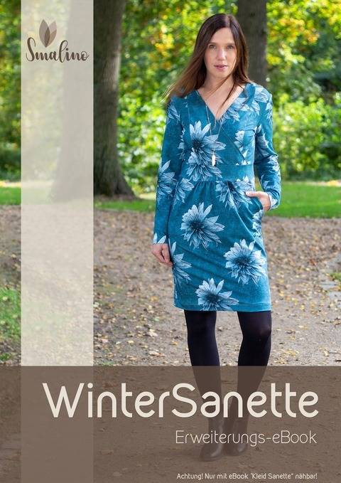 "Erweiterungs-eBook Damen-Kleid ""WinterSanette"" Gr. 34-56"