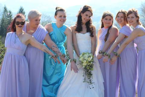 Bridesmaid Dress Schnittmuster & Anleitung by Sewera