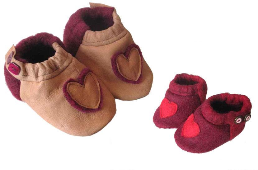 """""""hohe Schuhe mit Applikation"""", Gr.16-21 bei Makerist - Bild 1"""