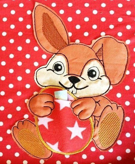 Oster Hase mit Ei 2 Größen bei Makerist - Bild 1