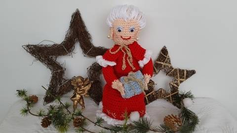 Häkelanleitung  Mrs.Claus Christmas Edition No.2
