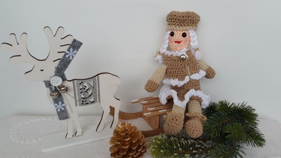 Häkelanleitung Samantha Christmas Edition No.4 bei Makerist - Bild 1
