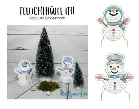 ITH Stickdatei - TLH Frosty in PES