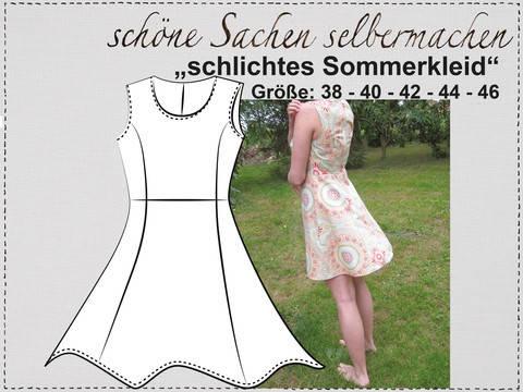 """""""Sommerkleid"""", Gr.38-46"""