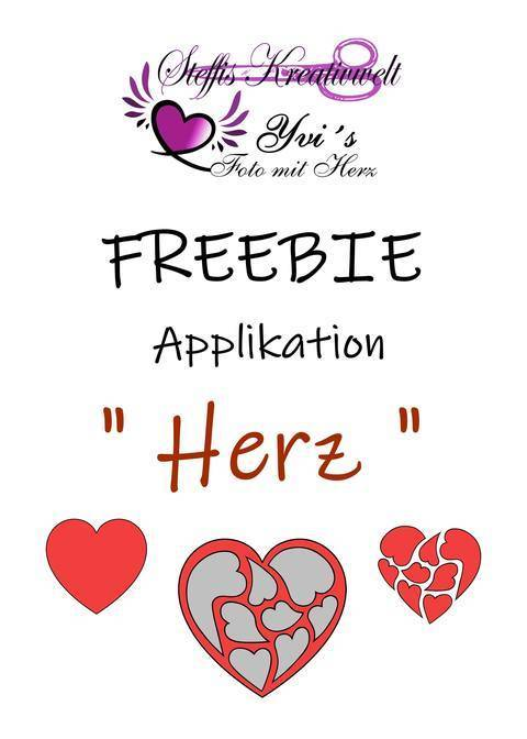 Applikationsfreebie Herz