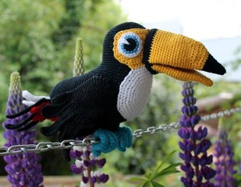 Toucy the toucan crochet pattern english version at Makerist