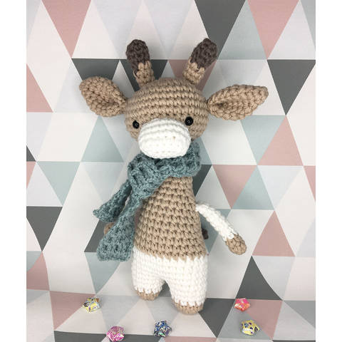 Amigurumi - Arthur Giraffe, Crochet Pattern at Makerist