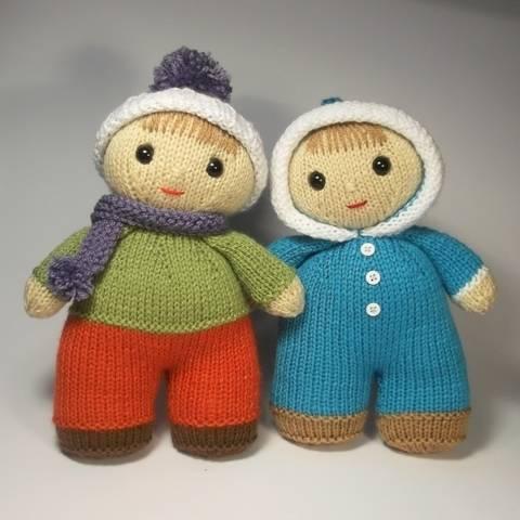 Billy and Bobbie-Jo dolls at Makerist