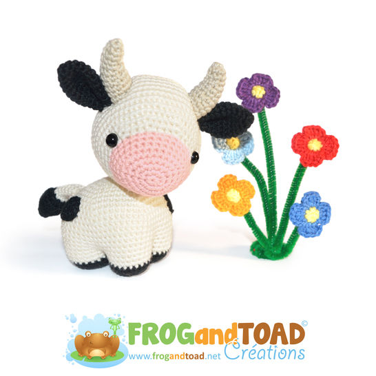Cow - PETRA the Cow - Amigurumi Crochet Pattern - PDF at Makerist - Image 1