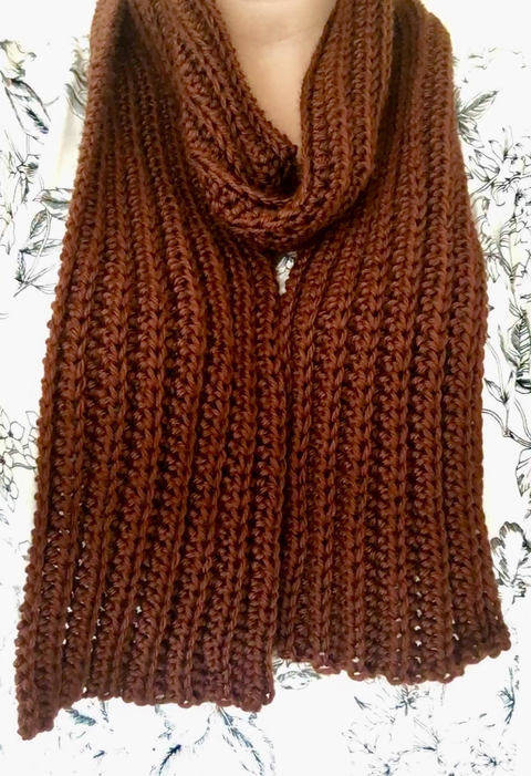 Smith Scarf - Beginner Friendly Pattern at Makerist