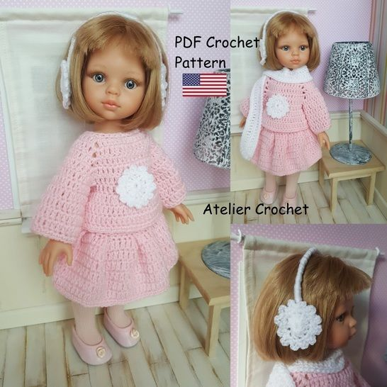 """Charline"" crochet pattern for Paola Reina at Makerist - Image 1"