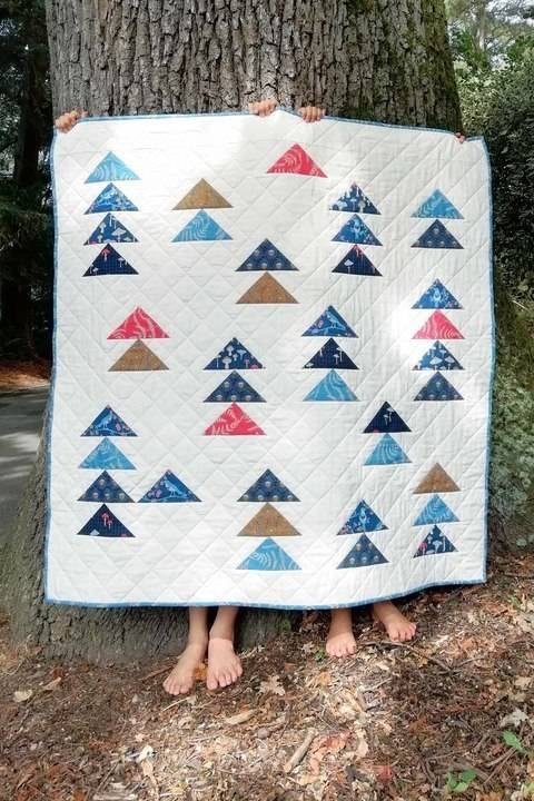 Forest Arrows Quilt